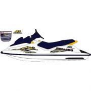 Kit Adesivo Jet Ski Sea Doo GS 1998 Azul