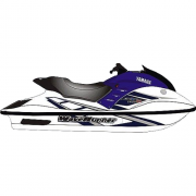 Kit Adesivo Jet Ski Yamaha GP 1200R 2001