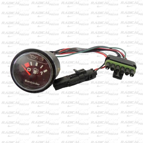 Relógio Marcador Óleo e Gasolina para Jet Ski Sea Doo XP 92*  - Radical Peças - Peças para Jet Ski