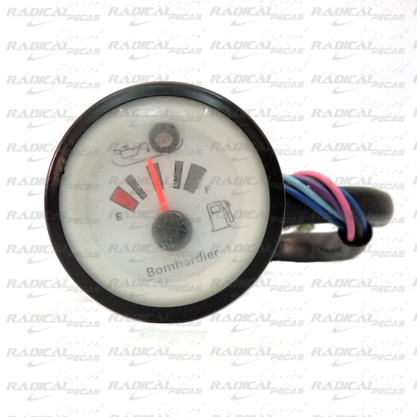 Relógio Marcador Óleo/Gasolina para Jet Ski Sea Doo Speedster/Challeger 97  - Radical Peças - Peças para Jet Ski