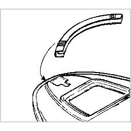 Parachoque Frontal Sea Doo GTI/GTX 96/98 Preto - BRP  - Radical Peças - Peças para Jet Ski