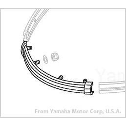Parachoque Frontal - Yamaha GP  - Radical Peças - Peças para Jet Ski