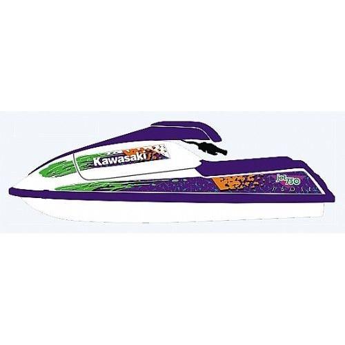 Kit Adesivo para Jet Ski Kawasaki  SX 750 ano 94+  - Radical Peças - Peças para Jet Ski