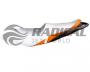 Capa de Banco Jet Ski Sea Doo GTI 130 11/12 Branco/Cinza/Laranja