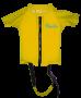 Flutuador Infantil Amarelo Proteção UV UPF50 +