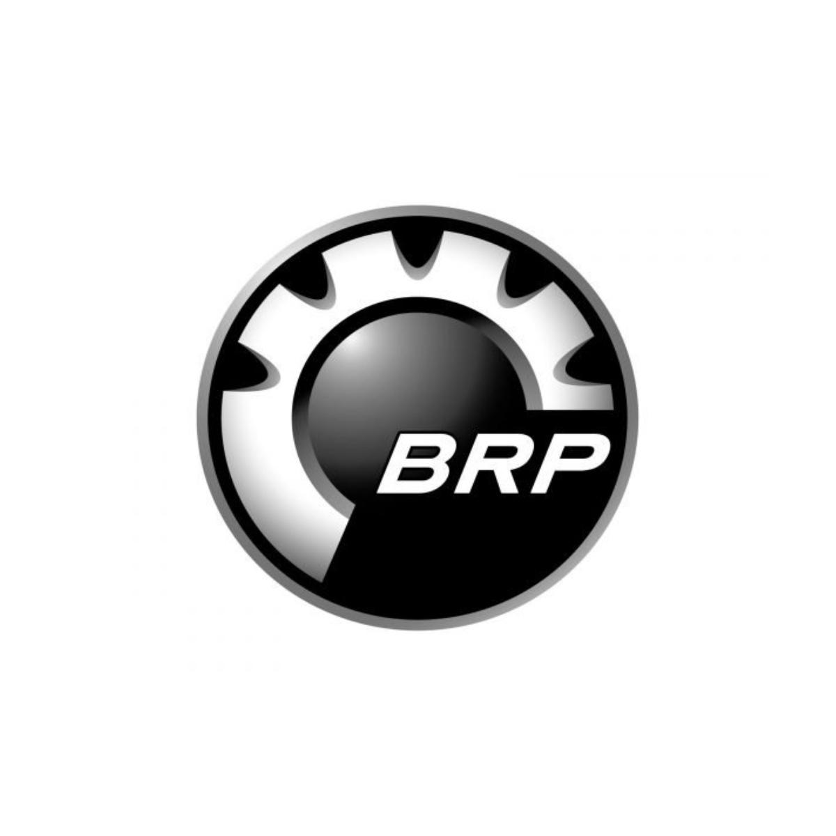 Adesivo Logo Frontal BRP 68mm Jet Ski Sea Doo  - Radical Peças - Peças para Jet Ski