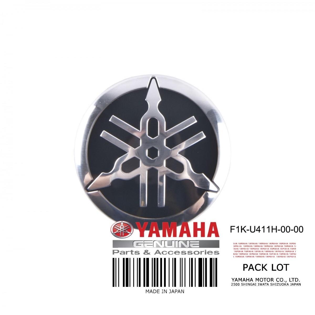 Adesivo Logo Yamaha Jet Ski VX 40mm+  - Radical Peças - Peças para Jet Ski