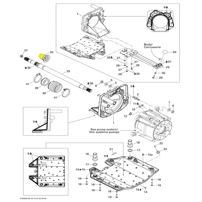 Anel de Carbono para Jet Ski Sea Doo (40mm)*  - Radical Peças - Peças para Jet Ski