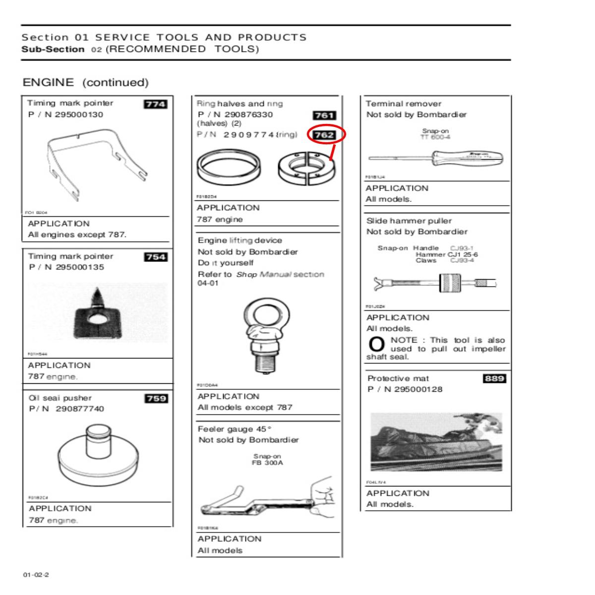 Anel de Instalação Jet Ski Sea Doo  - Radical Peças - Peças para Jet Ski