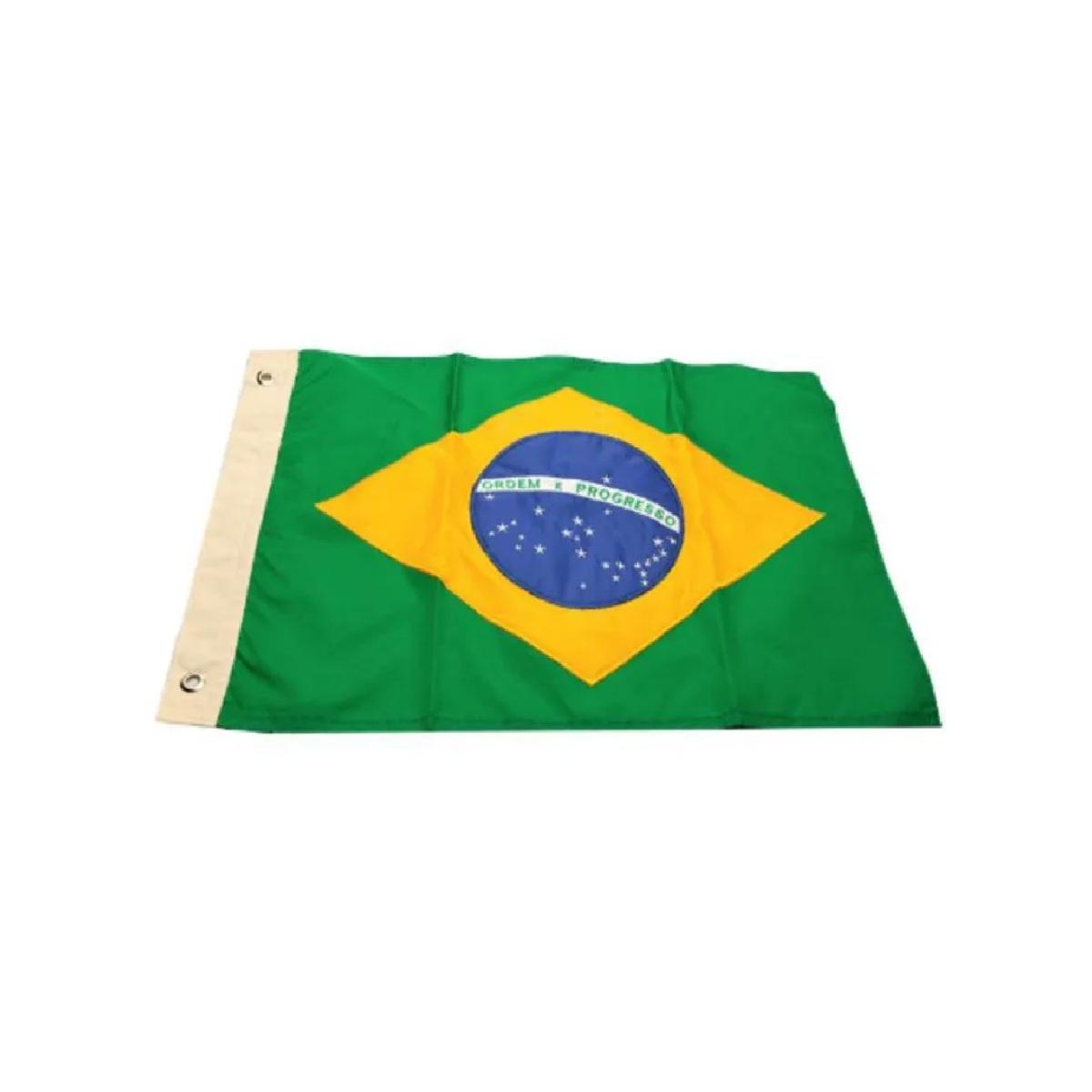 Bandeira do Brasil 33x47cm  - Radical Peças - Peças para Jet Ski