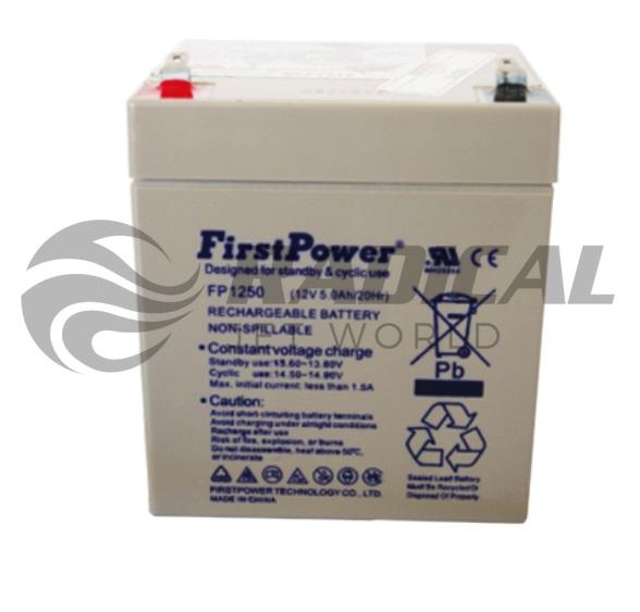 Bateria para Jet Ski Sea Doo 4 tempos First Power 12/28 Selada  - Radical Peças - Peças para Jet Ski