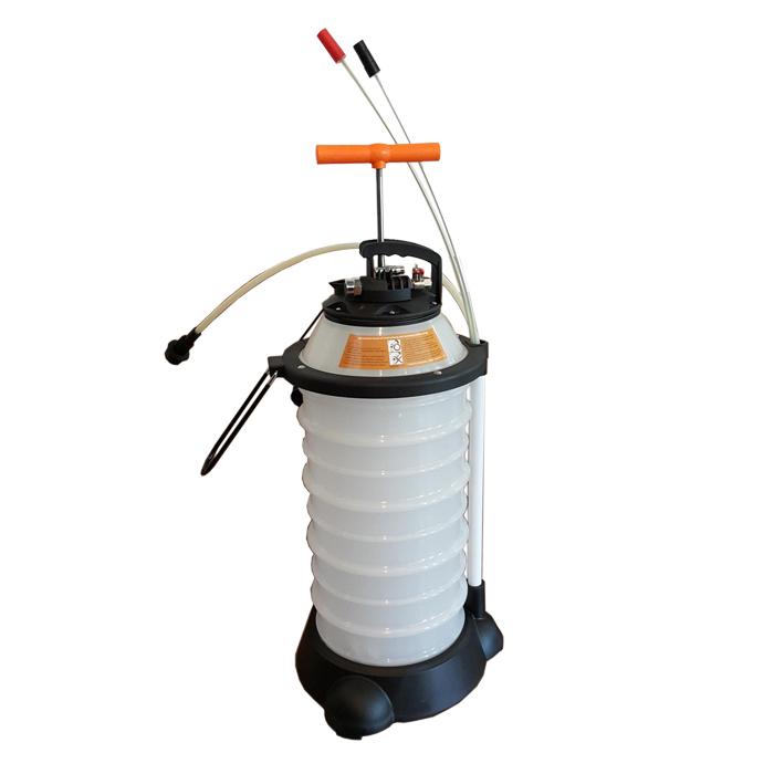 Bomba De Sucção Para Extração De Óleo 18L Pneumática e Manual  - Radical Peças - Peças para Jet Ski