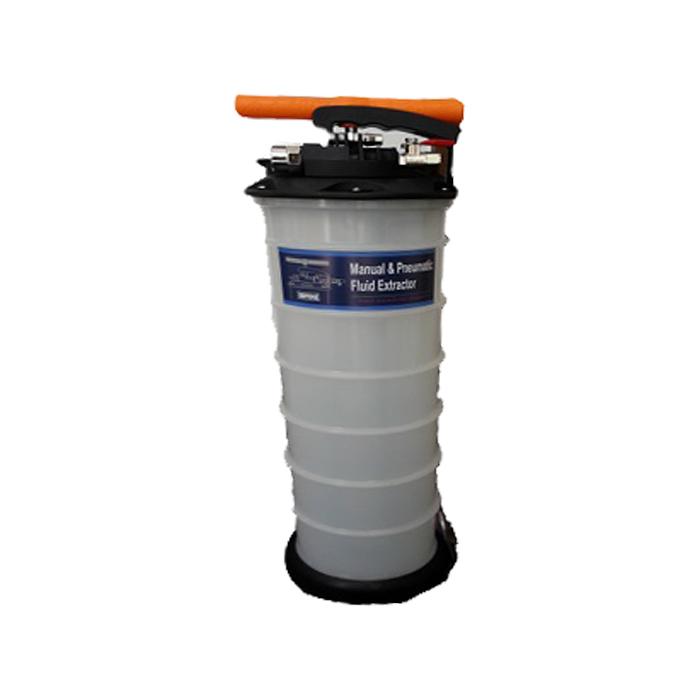 Bomba de Sucção para Extração de Óleo 6 Litros Pneumática e Manual  - Radical Peças - Peças para Jet Ski