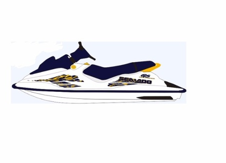 Capa para Banco Sea Doo GS/GSX 97  - Radical Peças - Peças para Jet Ski