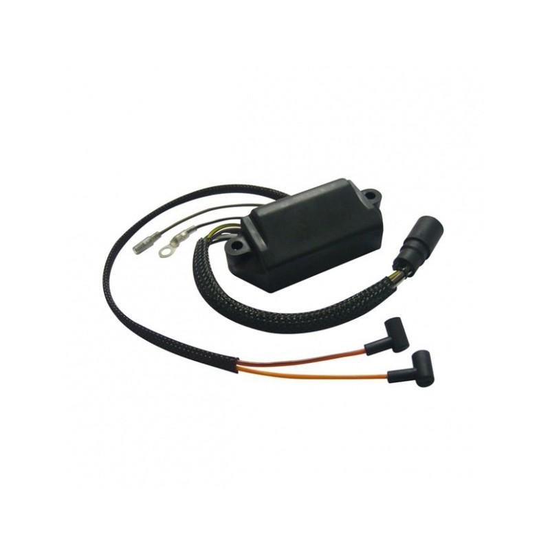 CDI 2 Cilindros CD2 SL 6100  c/Limitador de giro e Sensor de temperatura 18 à 50HP +  - Radical Peças - Peças para Jet Ski