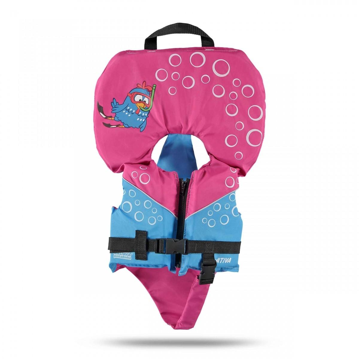 Colete Homologado Galinha Pintadinha Baby Classe V +  - Radical Peças - Peças para Jet Ski