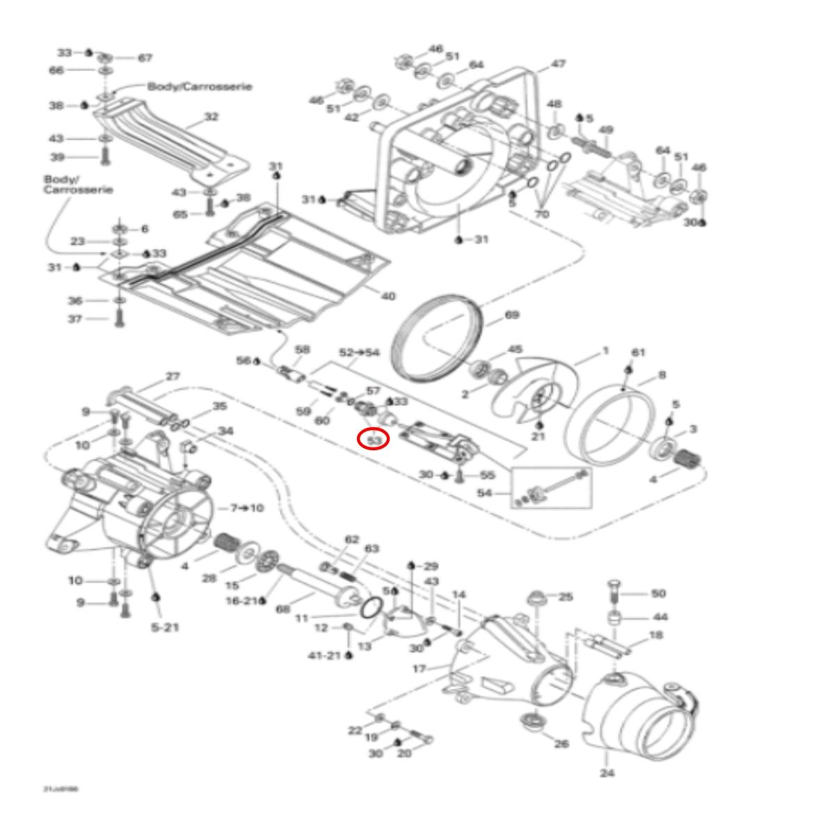 Conector Sensor Velocidade para Jet Ski Sea Doo  - Radical Peças - Peças para Jet Ski