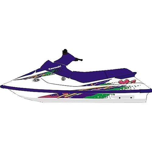 Kit Adesivo Jet Ski Kawasaki XI 1994  - Radical Peças - Peças para Jet Ski