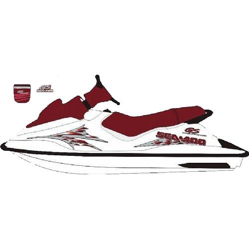 Kit Adesivo Jet Ski Sea Doo GS 2000  - Radical Peças - Peças para Jet Ski