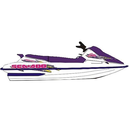 Kit Adesivo Jet Ski Sea Doo GTS 2000  - Radical Peças - Peças para Jet Ski