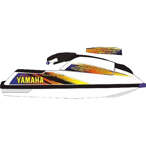 Kit Adesivo Jet Ski Yamaha Super Jet 1997  - Radical Peças - Peças para Jet Ski
