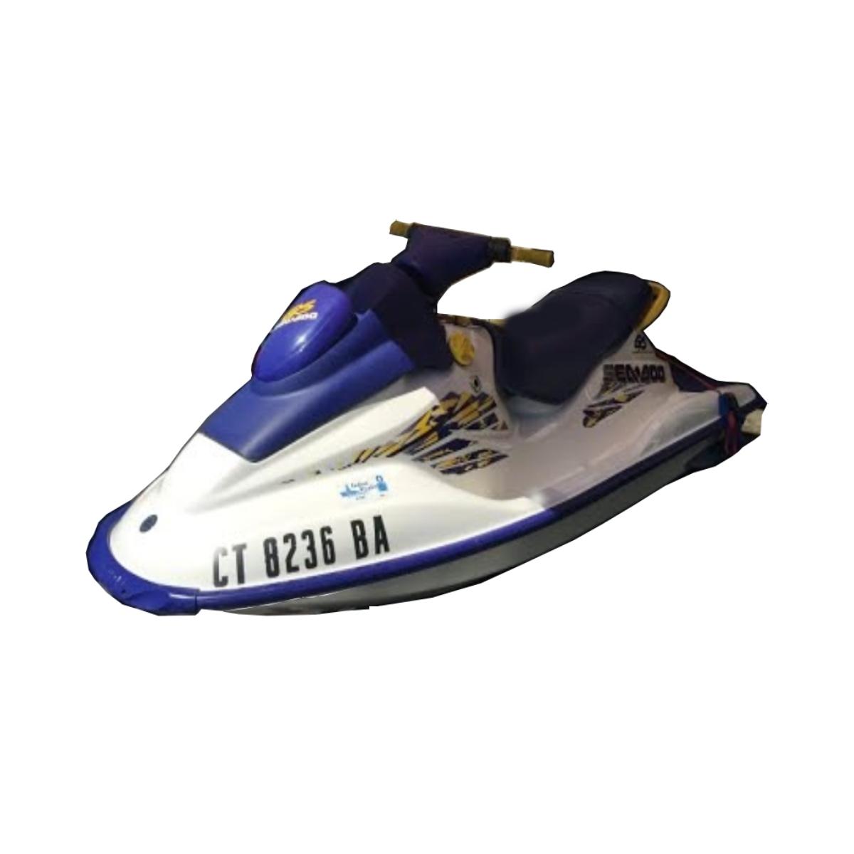 KIT ADESIVO PARA JET SKI SEA DOO GS 1998 Azul  - Radical Peças - Peças para Jet Ski