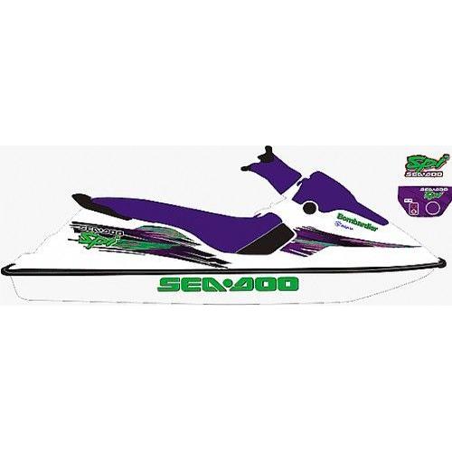 Kit Adesivo Sea Doo SPI 1996  - Radical Peças - Peças para Jet Ski