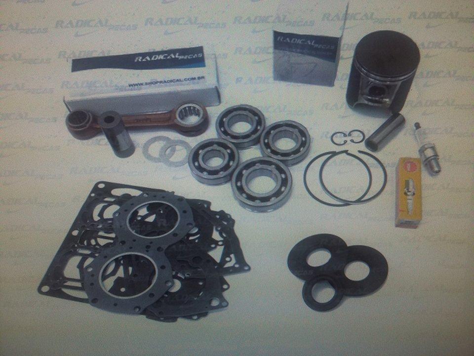 Kit Motor Completo Radical para Jet Ski Kawasaki 750 STD (Motor Completo)  - Radical Peças - Peças para Jet Ski