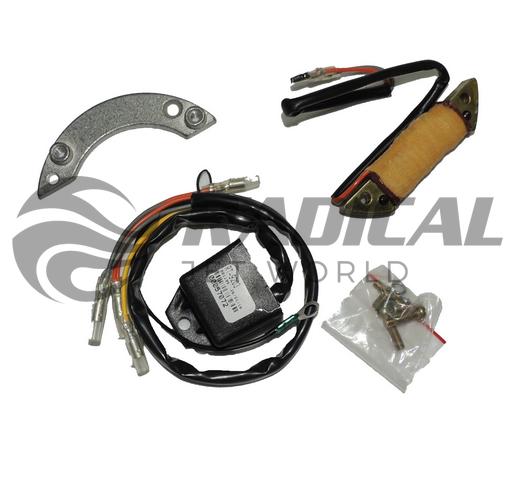 Kit conversor platinado Para cdi motores yamaha de 8hp a 40hp 2 cilindros  - Radical Peças - Peças para Jet Ski