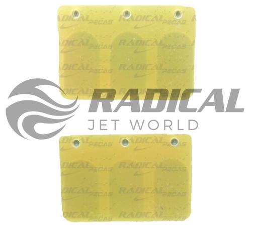 Palheta Torque Boyesen Jet Ski Yamaha 650 (p/ 2 torque)  - Radical Peças - Peças para Jet Ski