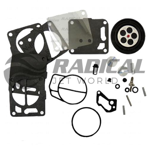 Reparo Carburador Mikuni para Jet Ski Sea Doo/Yamaha  - Radical Peças - Peças para Jet Ski