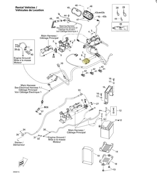 Retificador de Voltagem Sea Doo 4 Tempos Importado  - Radical Peças - Peças para Jet Ski