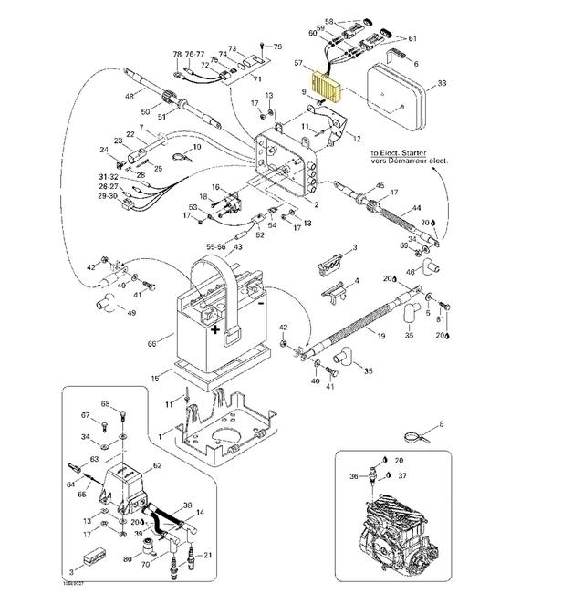 Retificador de Voltagem Sea Doo GSX/GTI/GTX RFI/RX XP DI Importado*  - Radical Peças - Peças para Jet Ski