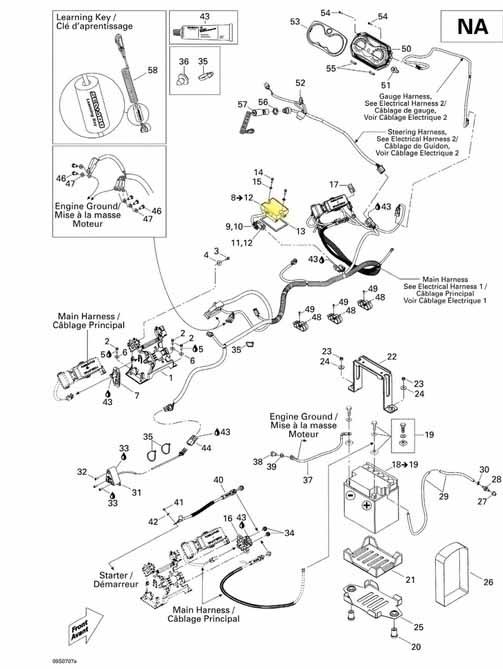 Retificador de Voltagem Sea Doo GTI/GTX/RXP/RXT  - Radical Peças - Peças para Jet Ski