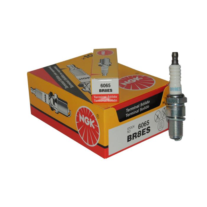 Vela BR8ES-D para Jet Ski Sea Doo 2 Tempos ngk (Caixa c/ 10 unidades)  - Radical Peças - Peças para Jet Ski