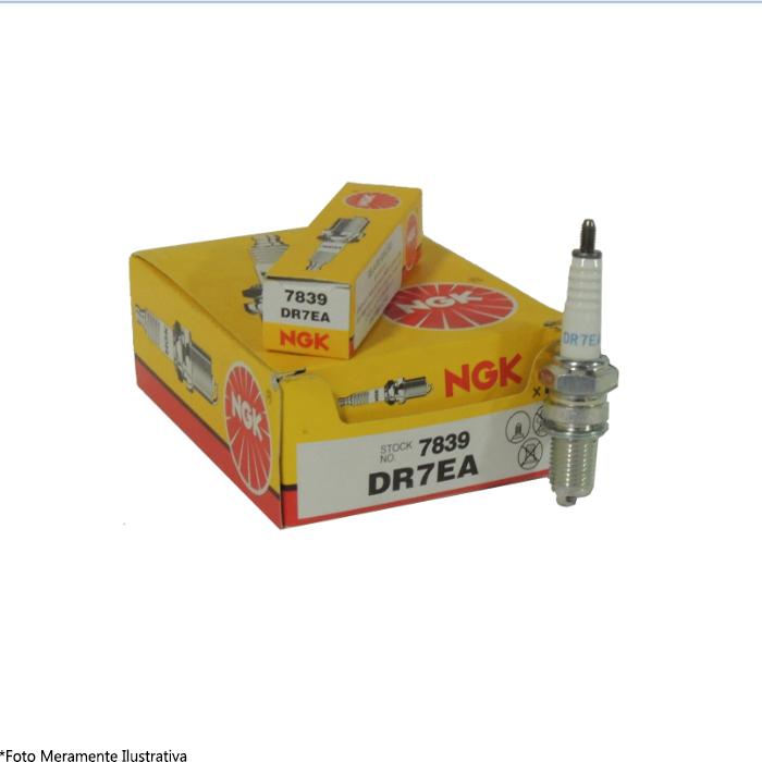 Vela DR7EA para Motor de Popa Honda NGK (Caixa c/ 10 Unidades)  - Radical Peças - Peças para Jet Ski
