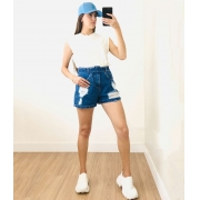 Blusa Muscle Tee Off White