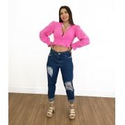 Calça Mom Jeans Letícia