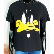 T-Shirt Patinho Preto