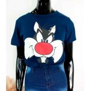 T-Shirt Personagem Azul