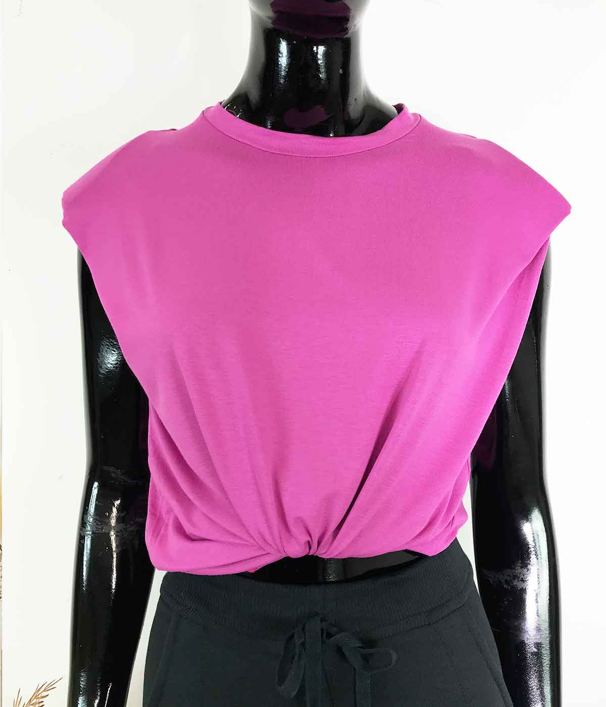 Blusa Muscle Tee Rosa