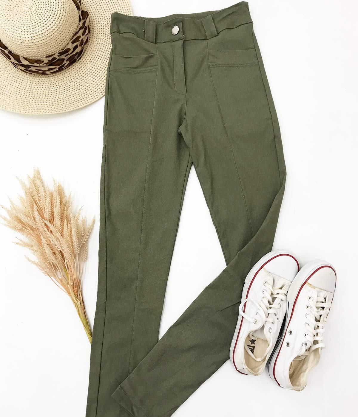 Calça Bengaline Verde