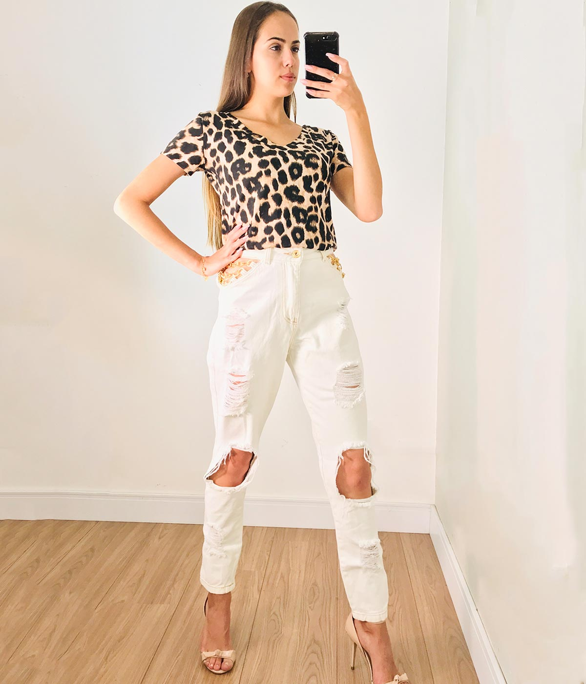 Calça Jeans Corrente