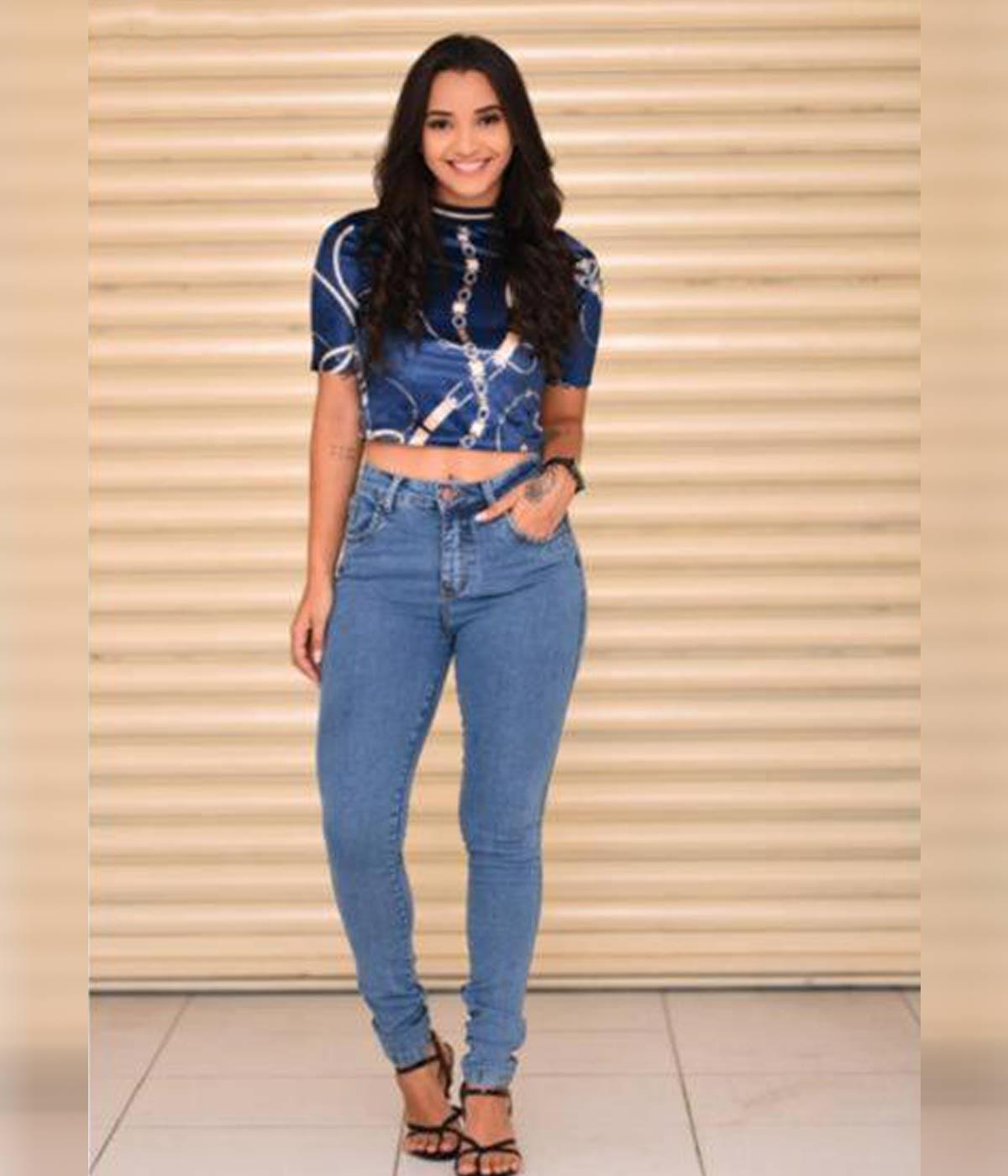 Calça Jeans Skinny Clara