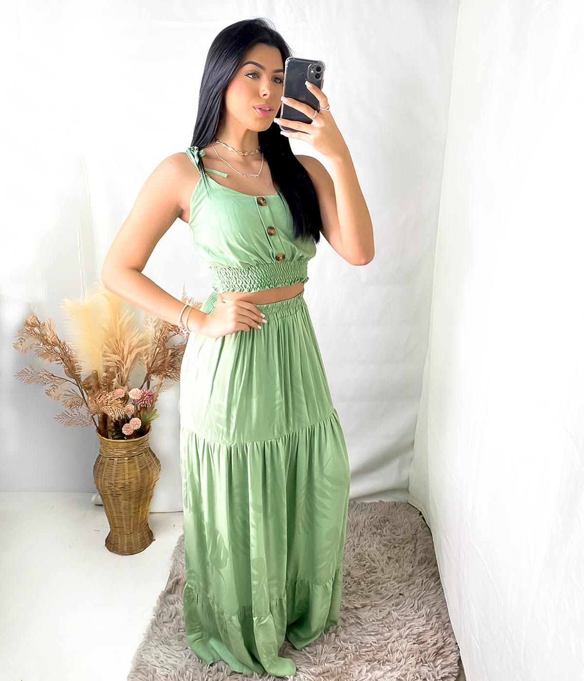 Conjunto Anna Júlia Verde