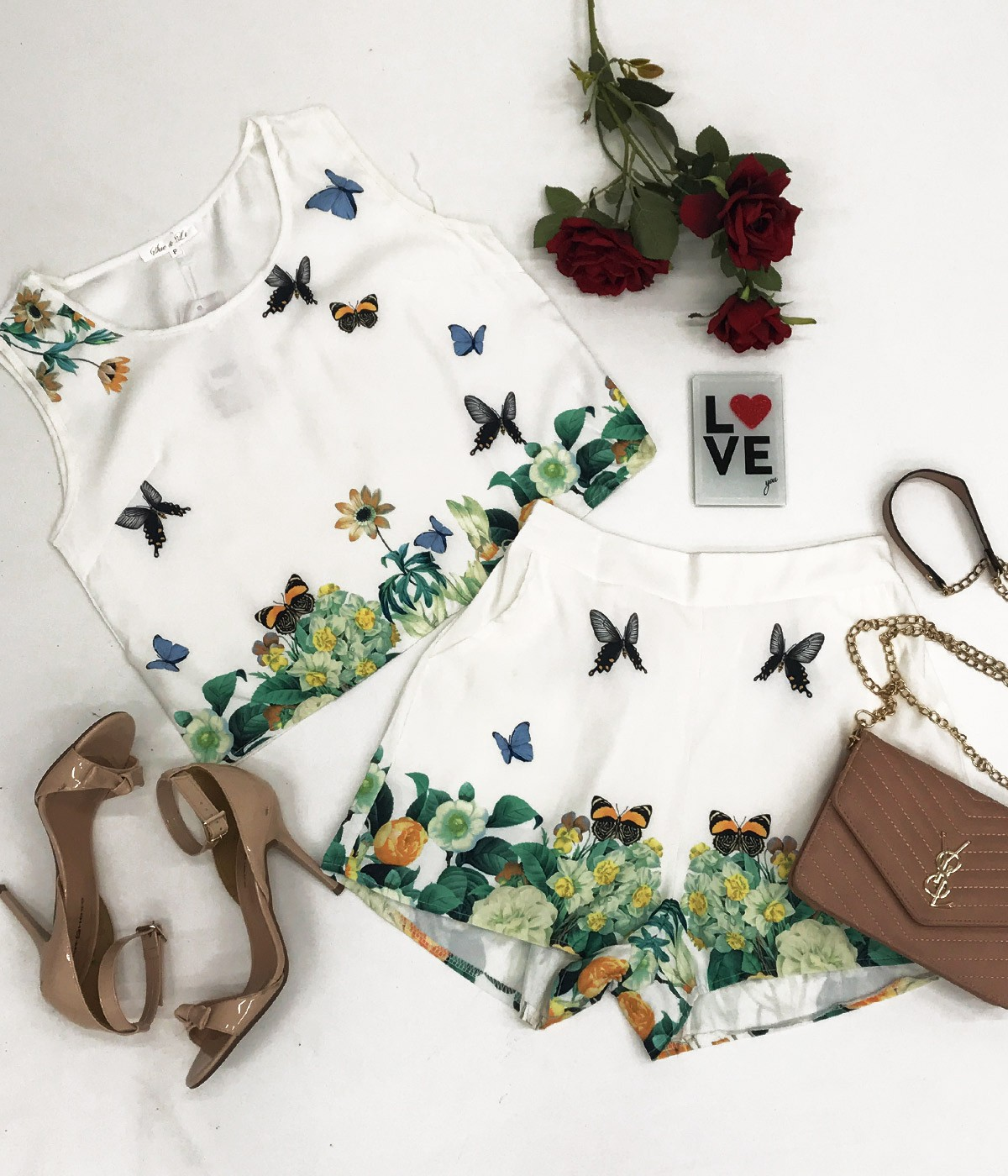 Conjunto Butterfly
