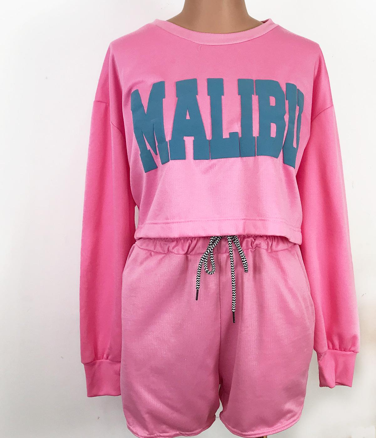 Conjunto Malibu  Rosa Chiclete