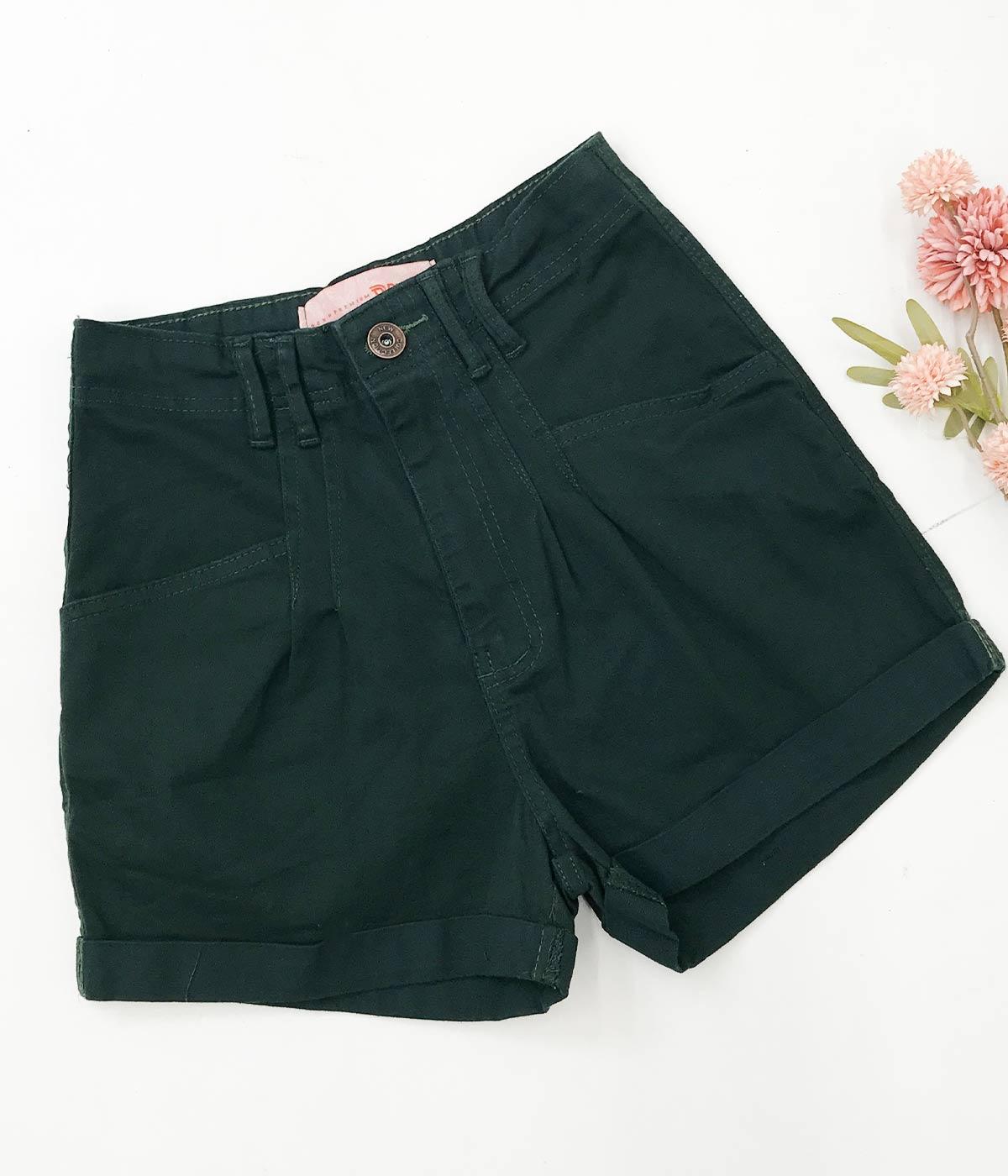 Short Brim Verde Escuro