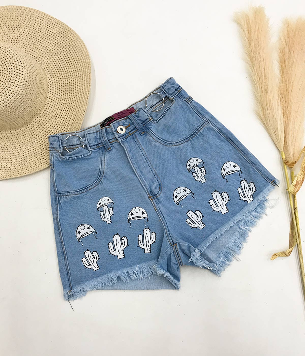 Short Jeans Cactos Juliete