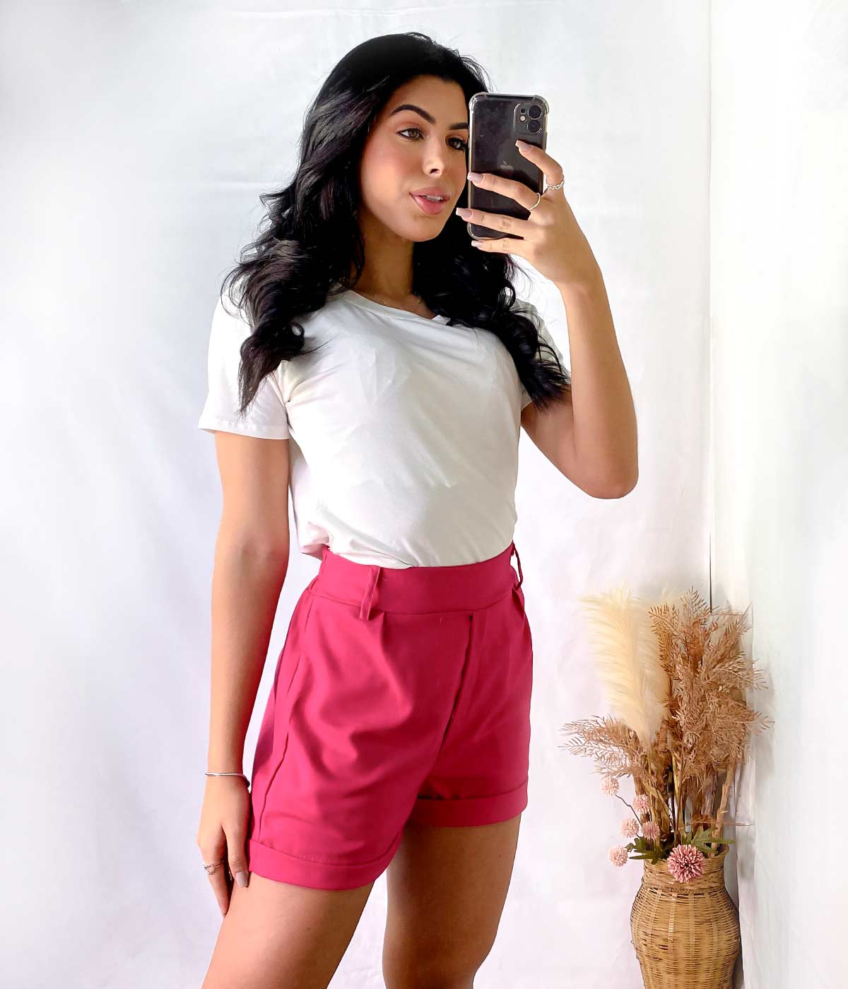 T-Shirt Malha Lisa Off
